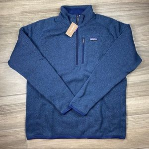 Patagonia Better Sweater 1/4 Zip in Classic Navy
